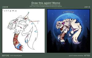 draw this again meme: stigma by starplexus