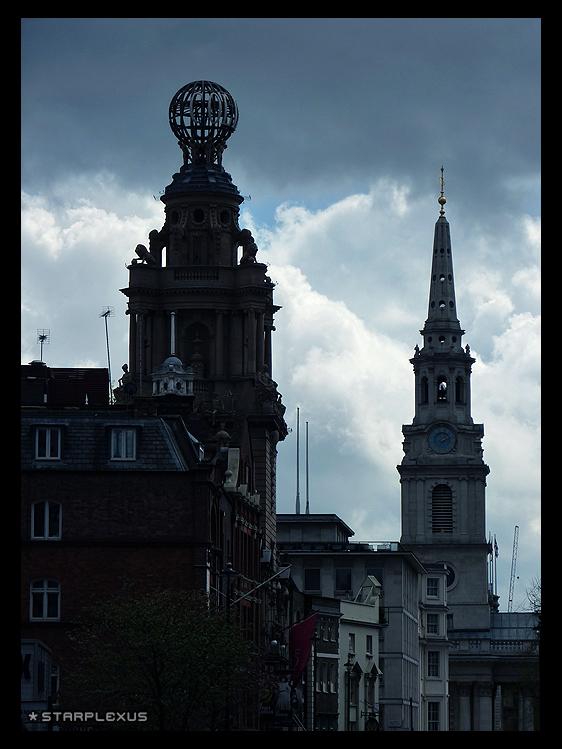 city in the rain by starplexus
