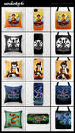 SOCIETY6 merchandise by starplexus