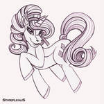 MLP - Crystal Rarity SKETCH