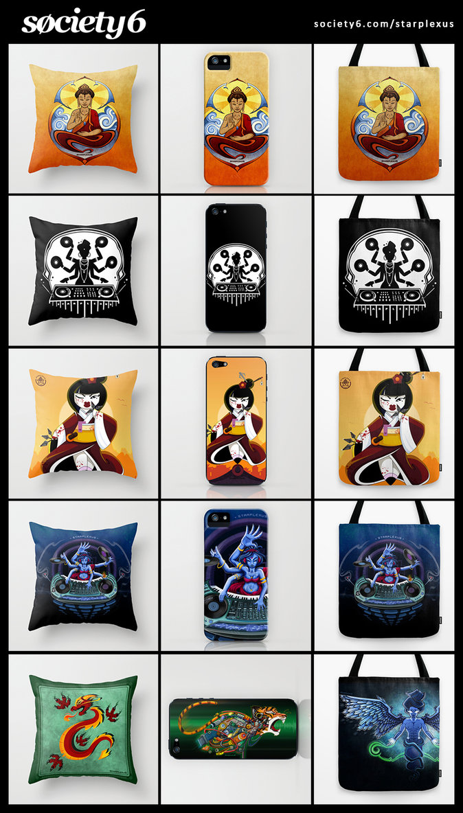Cyber week deals on society6 shop by starplexus on deviantart for Websites similar to society6