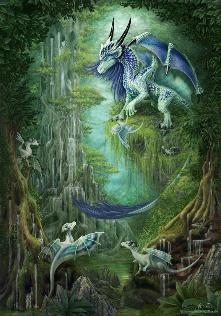 Harmonie - Walddrachen by ArkaEdri