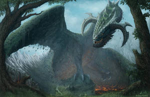 Earth Gigant - Mountains Dragon