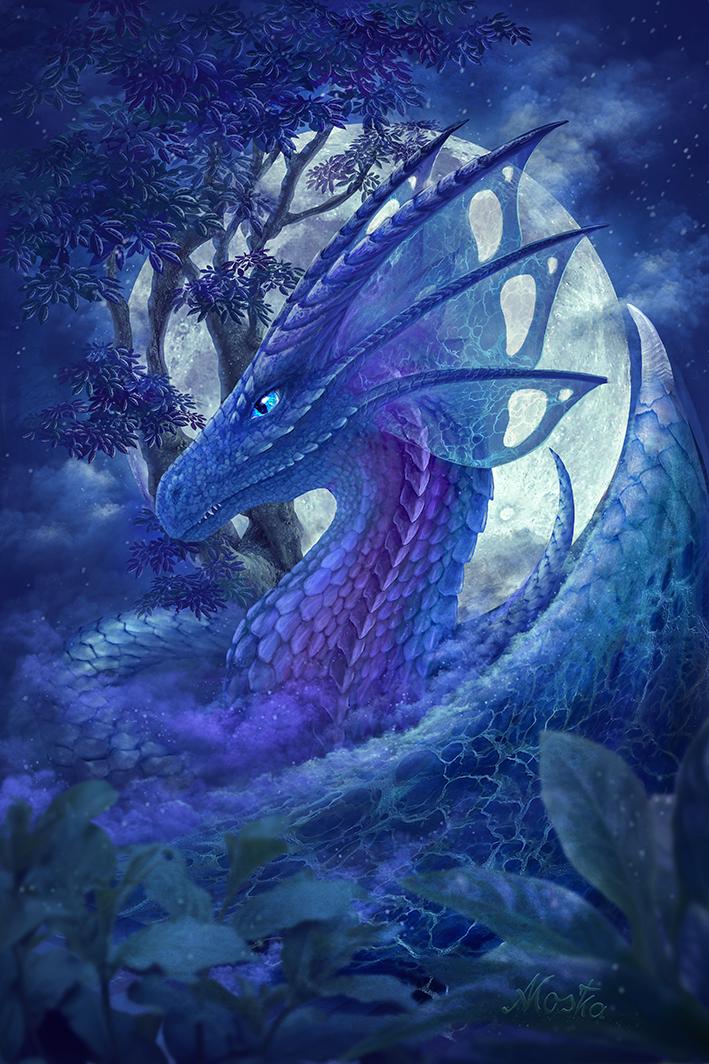 Monddrache01 by ArkaEdri