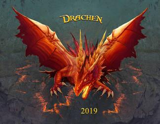 Drachen Kalender 2019 by ArkaEdri