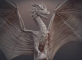 Dragon Skulpture
