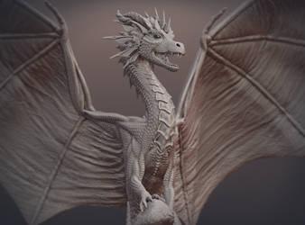 Dragon Skulpture by ArkaEdri