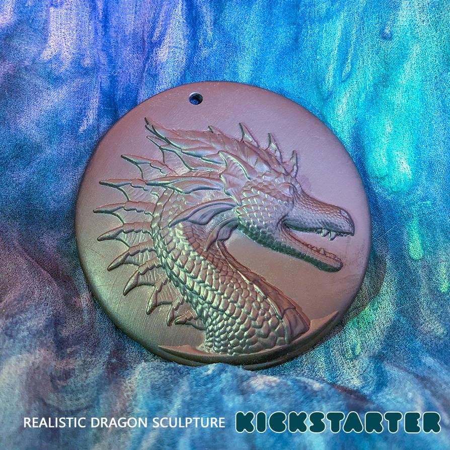 3D-Print dragon amulet by ArkaEdri