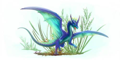 Happy little dragon