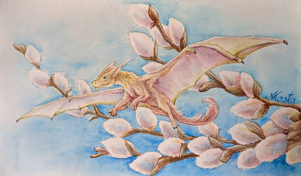 Catkins dragon