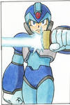 Megaman X With Saber