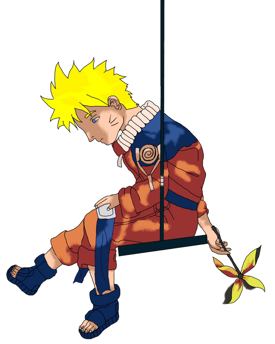 Naruto Uzamaki by alannad396