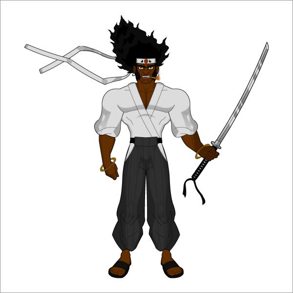 Afro Samurai by ocd012 on DeviantArt