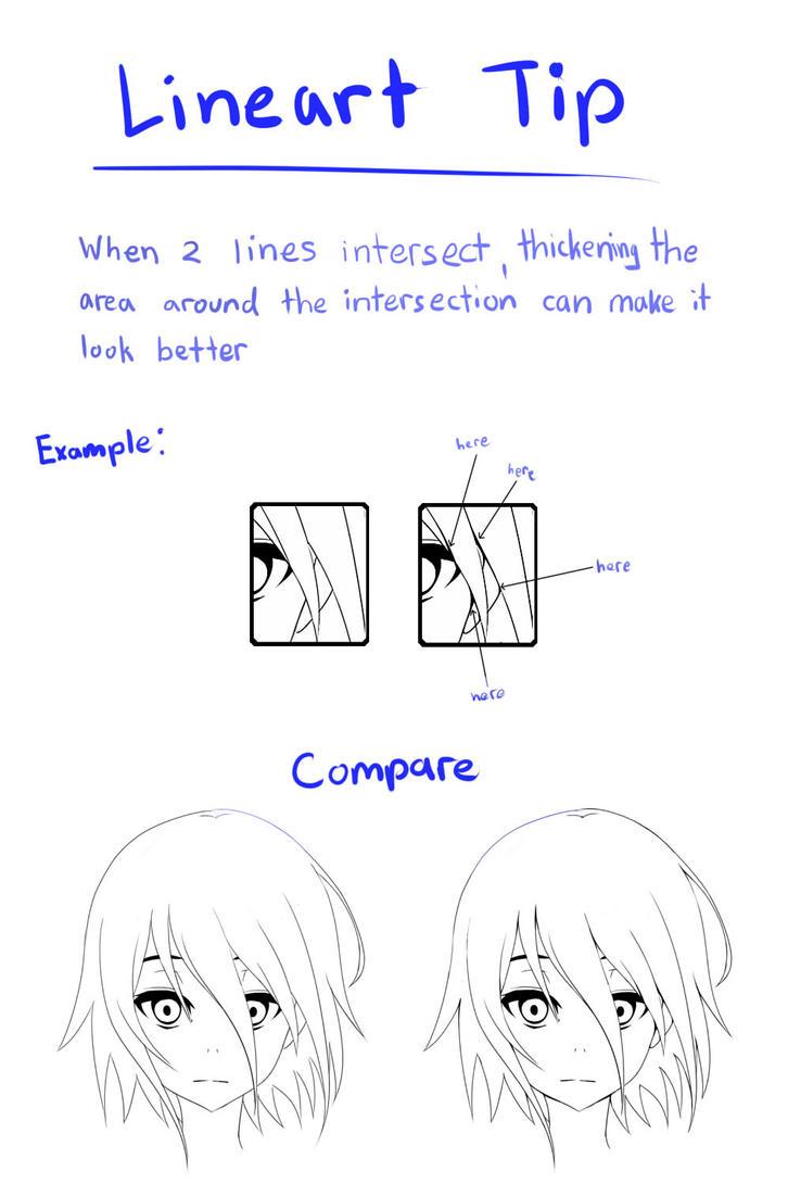 Sai Lineart : Sai lineart tip by zeolch on deviantart