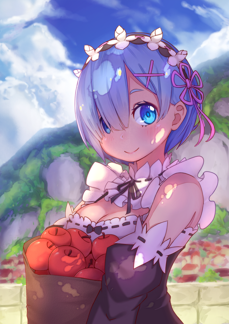 Rem's Apples by Zeolch