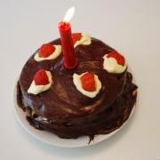 I made a portal cake! by Indigo-Yartsev