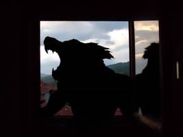 Window Were Wolf by necromanga