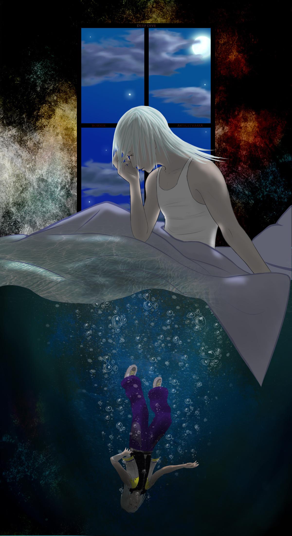 Riku deep dive by roksik on deviantart - Kingdom hearts deep dive ...