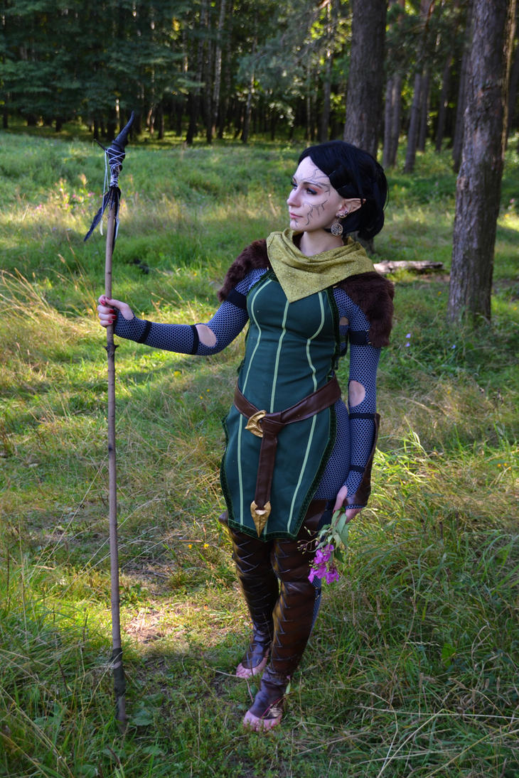 Da2 Merrill Cosplay Full Body Shot By Roksik On Deviantart