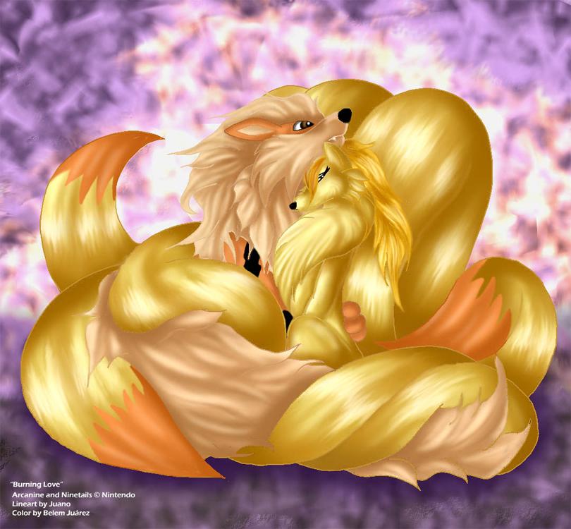 Ninetales And Arcanine Love All