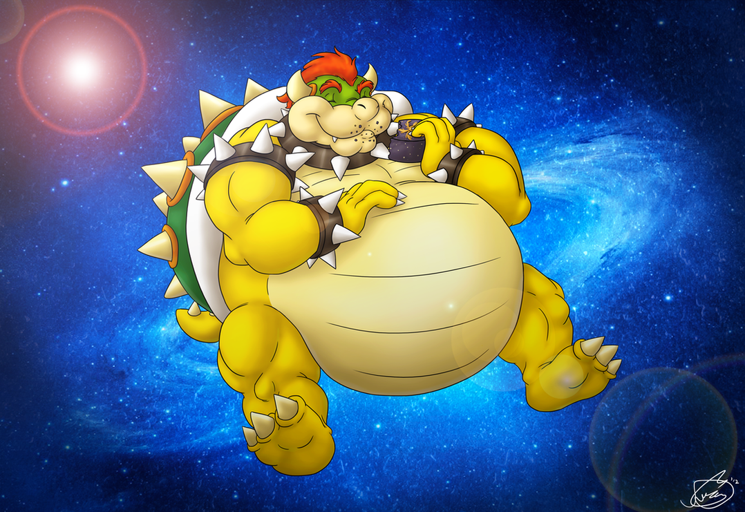 Super Bowser Galaxy by ziude