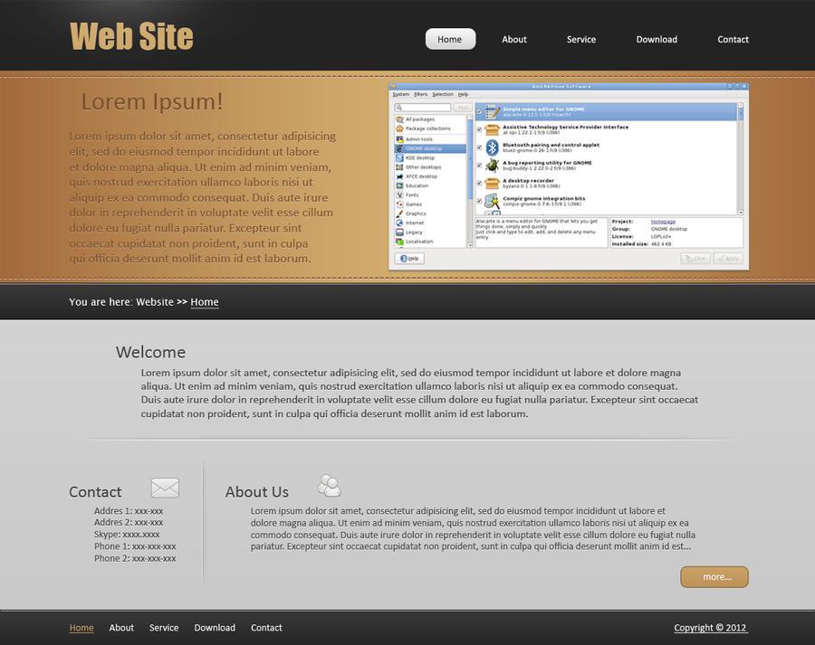 Web Design #3 by Fr1X