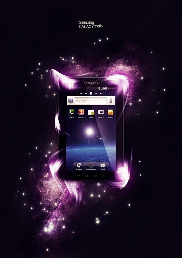 Samsung Galaxy Tab by Craiqqi