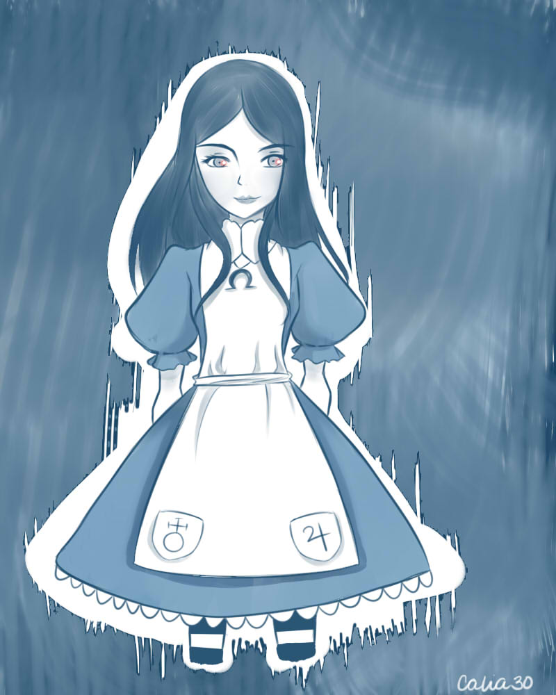 Alice doodle by Calia30