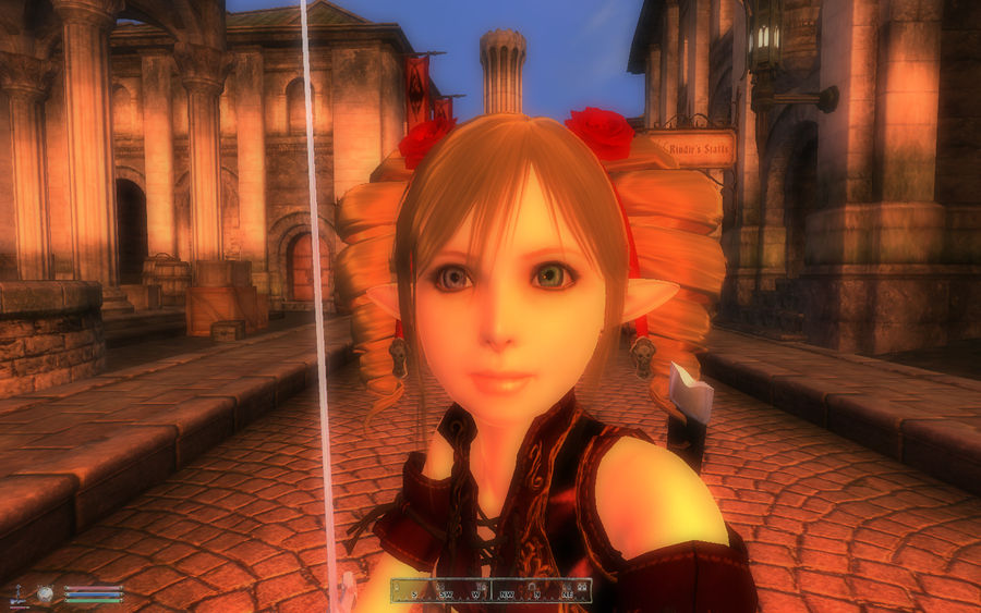 My Oblivion loli face closeup by Fragnostic on DeviantArt