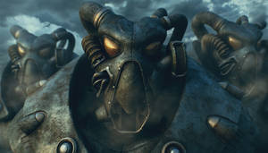 Fallout 2 Fan Art : Cold Encounters