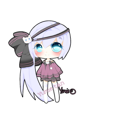 Adoptable cute chibi (CLOSED) by Miyee