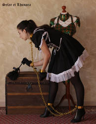 Lhunara chained maiden 3 by SylarEtLhunara