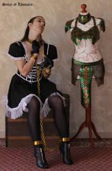 Lhunara chained maiden 4 by SylarEtLhunara
