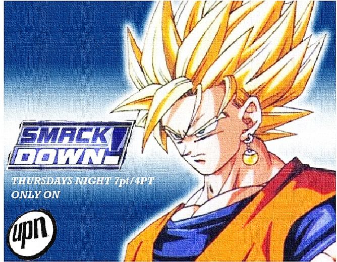 WWE SMACKDOWN PROMO GOKU UPN NETWORK by jaibo233 on DeviantArt
