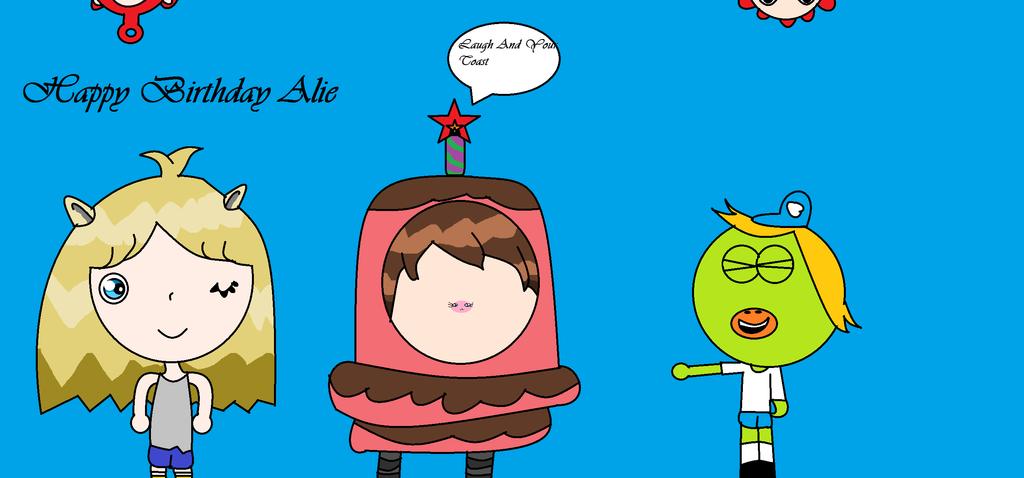 Happy Birthday Alie by Tombliboos4life
