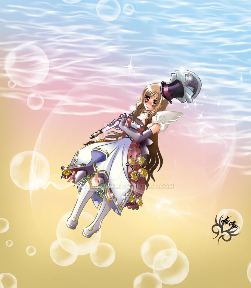 A magical girl by IanjaNyu