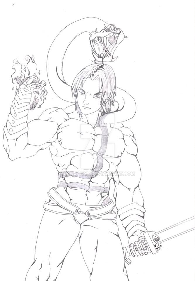 Luchi the snake by IanjaNyu