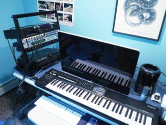 Studio of Python Blue (Part 1) by PythonBlue