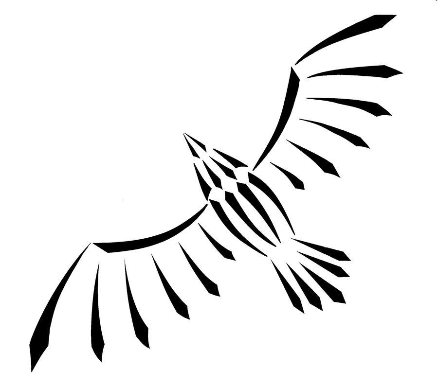 Bird Line Drawing Tattoo : Soaring bird by theclarinetmusician on deviantart