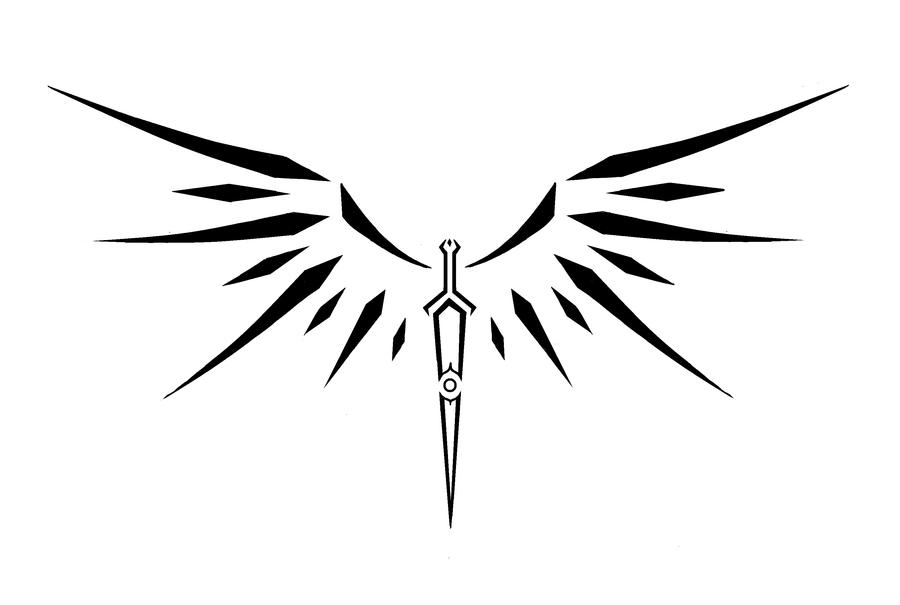 winged sword by theclarinetmusician on deviantart