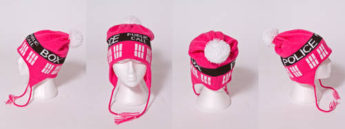 Pink Pie Pinks A Tardis by NerdyNeedles