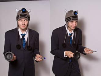 DALEK DOCTOR! DALEK DOCTOR! by NerdyNeedles