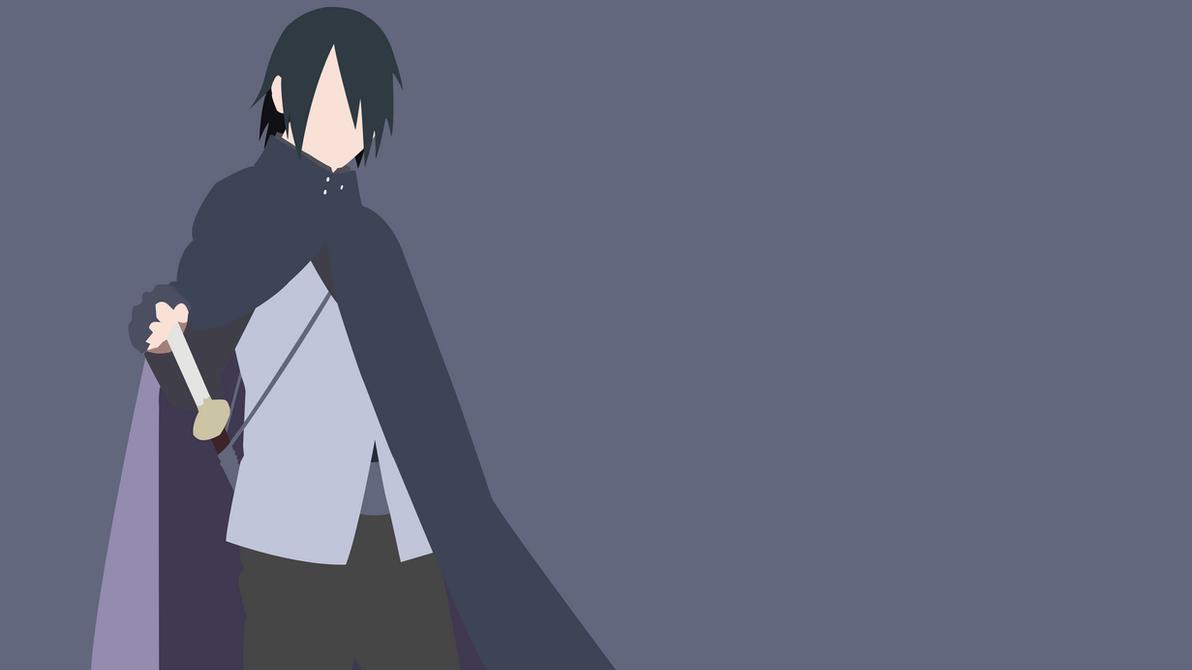 Top Wallpaper Naruto Boruto - naruto_boruto__sasuke_uchiha_minimalist_wallpaper_by_obilityx-dbrb6za  Picture_37133.png