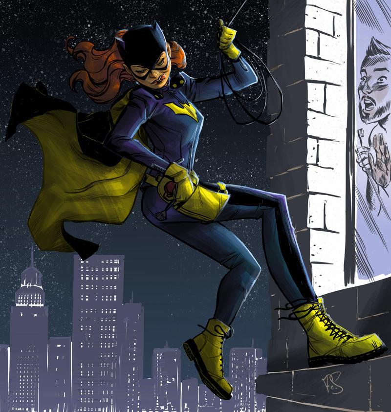 Batgirl by Psoa