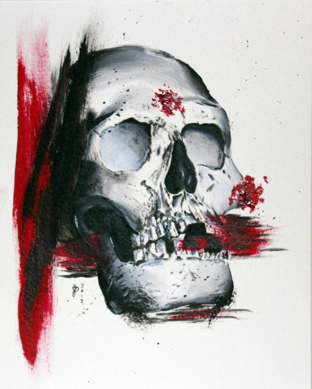 Trash Polka Skull By Mcrdesign On Deviantart: Trash Polka Skull By Jdelmontetattoos On DeviantArt