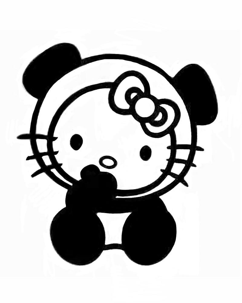 dessin hello kitty a imprimer