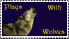 Plays with Wolves Stamp by FF-n-FMA