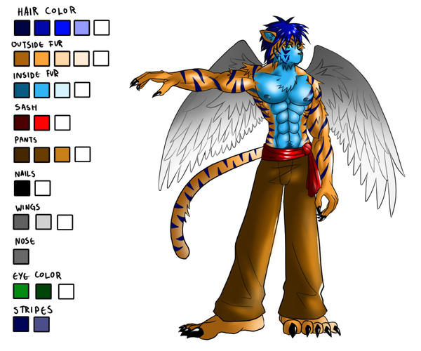 Icy Mawpur: Ref sheet