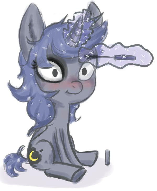 Luna Make-Up by tanyamya