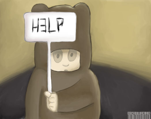 Poor Leno by xgothikix